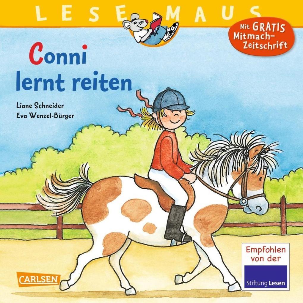 Conni lernt reiten als Buch