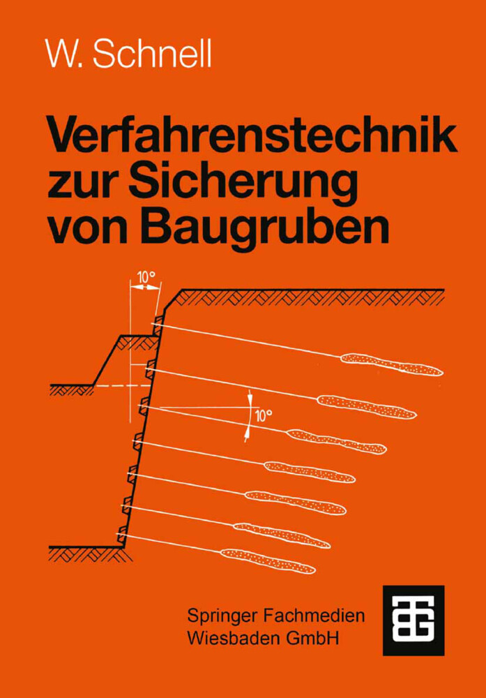 Verfahrenstechnik zur Sicherung von Baugruben als Buch (kartoniert)