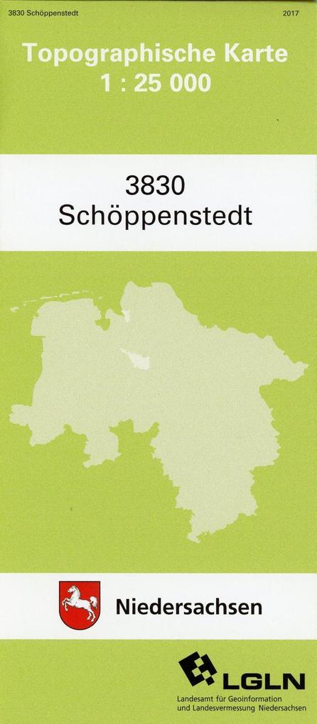 Schöppenstedt 1 : 25 000 (TK 3830/N) als Buch