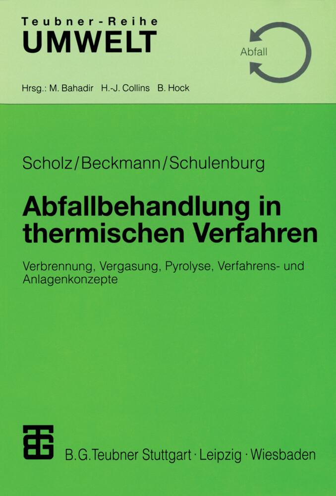 Abfallbehandlung in thermischen Verfahren als Buch