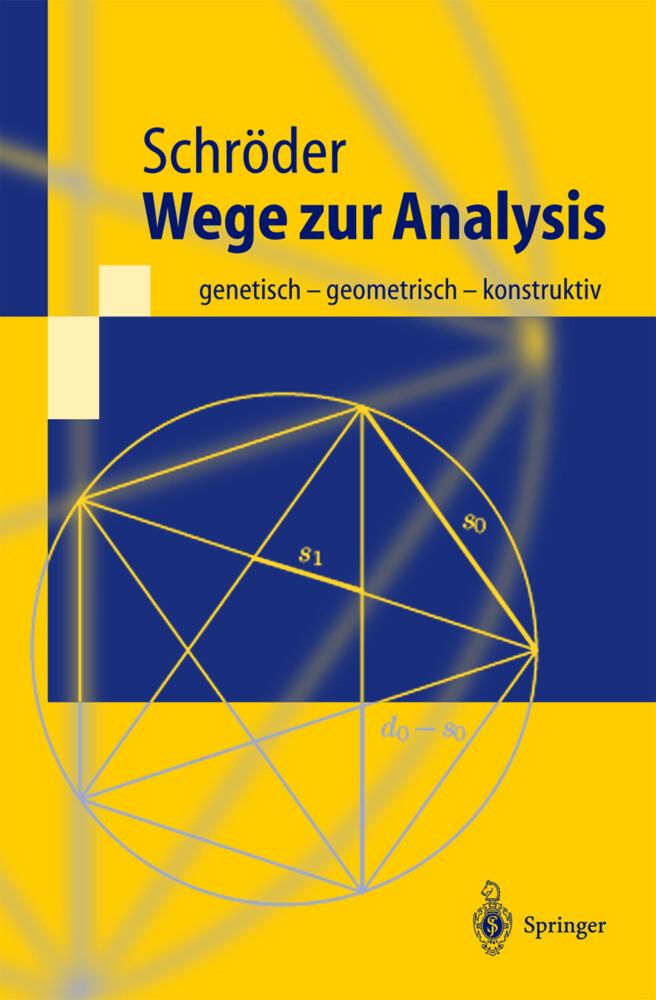 Wege zur Analysis als Buch