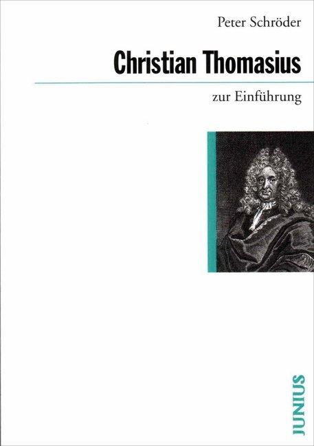 Christian Thomasius zur Einführung als Taschenbuch
