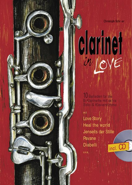 Clarinet in Love als Buch