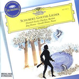 Goethe-Lieder als CD