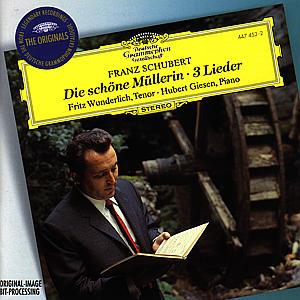 DIE SCHÖNE MÜLLERIN/3 LIEDER als CD