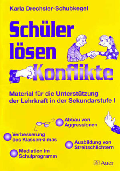 Schüler lösen Konflikte als Buch