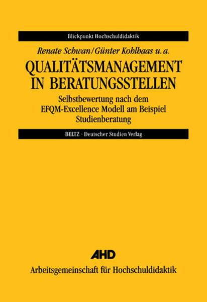 Qualitätsmanagement in Beratungsstellen als Buch (gebunden)