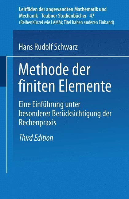 Methode der finiten Elemente als Buch