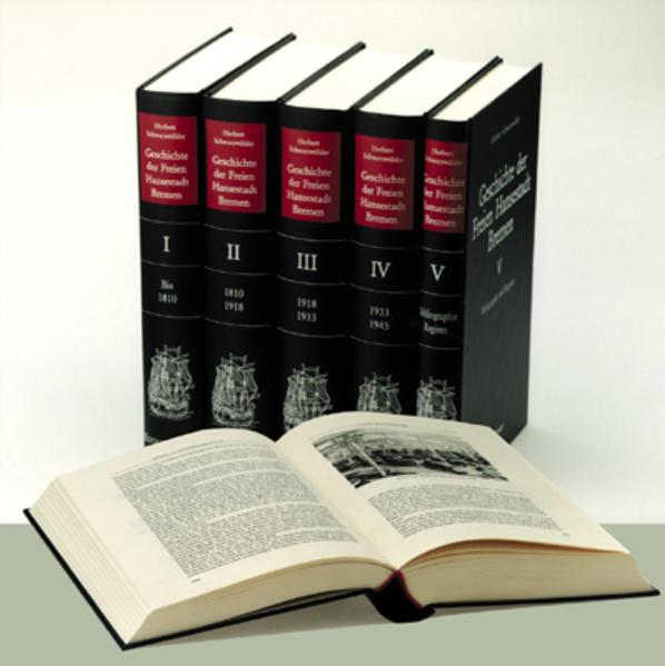 Geschichte der Freien Hansestadt Bremen I/V als Buch