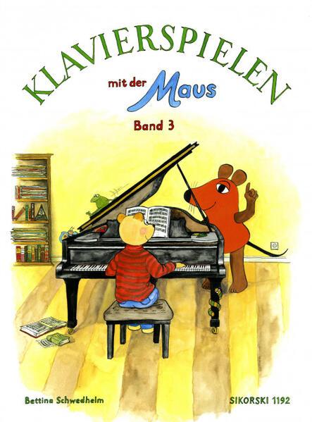 Klavierspielen mit der Maus 3 als Buch