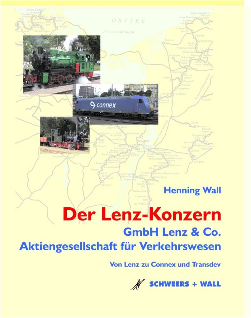 Der Lenz-Konzern als Buch von Henning Wall