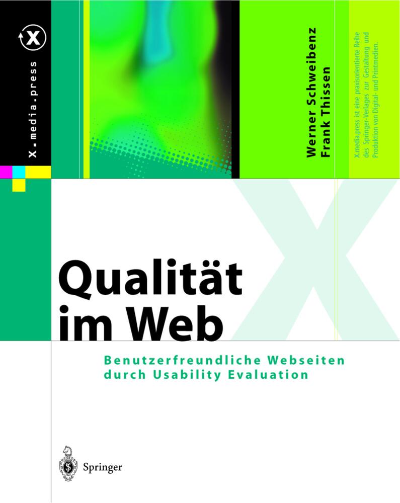 Qualität im Web als Buch