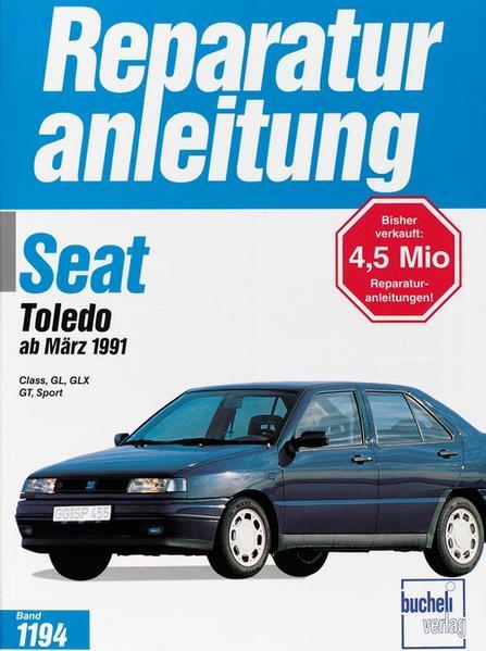 Seat Toledo ab März 1991 als Buch