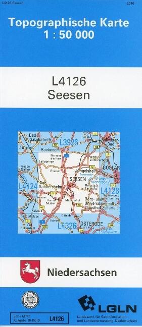 Seesen 1 : 50 000. (TK 4126/N) als Buch