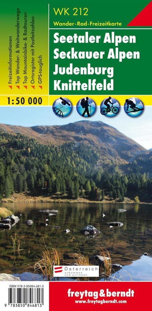 Seetaler Alpen / Seckauer Alpen 1 : 50 000. WK 212 als Buch