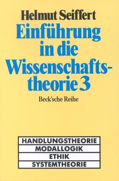 Einführung in die Wissenschaftstheorie 3 als Buch