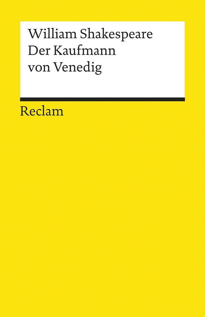 Der Kaufmann von Venedig als Taschenbuch