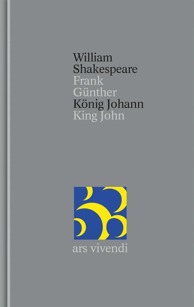 König Johann / King John als Buch