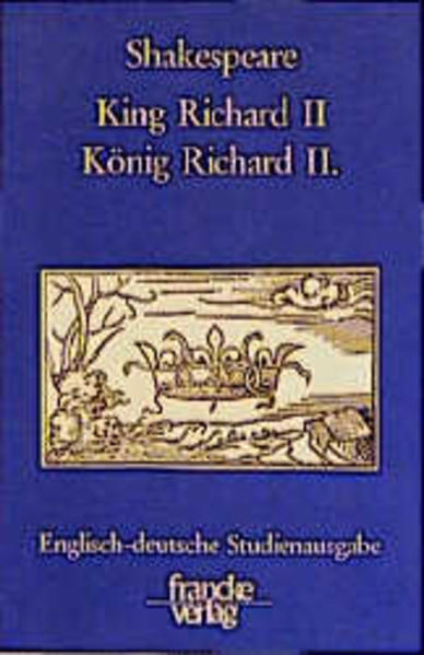 König Richard II. / King Richard II als Buch