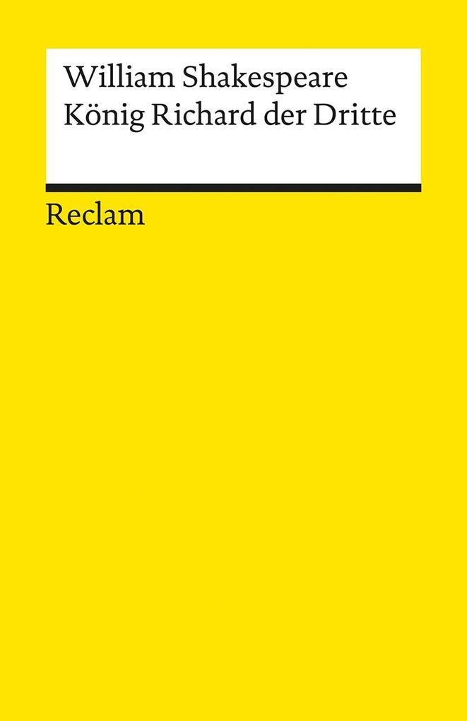 König Richard III als Taschenbuch