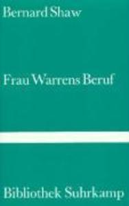 Frau Warrens Beruf als Buch