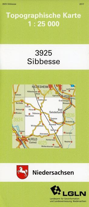 Sibbesse 1 : 25 000 als Buch