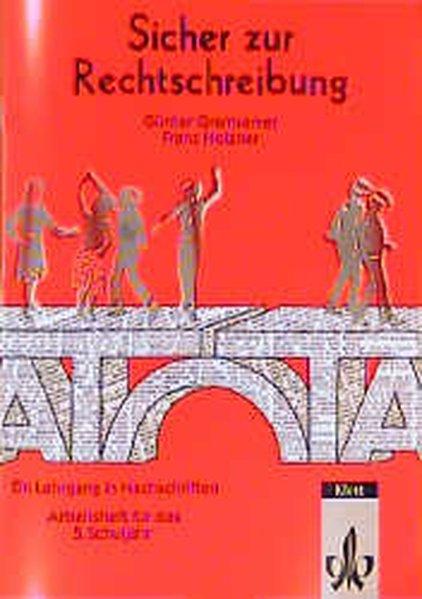 Sicher zur Rechtschreibung. 5. Schuljahr. Arbeitsheft als Buch