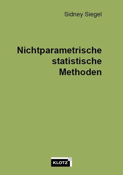 Nichtparametrische statistische Methoden als Buch