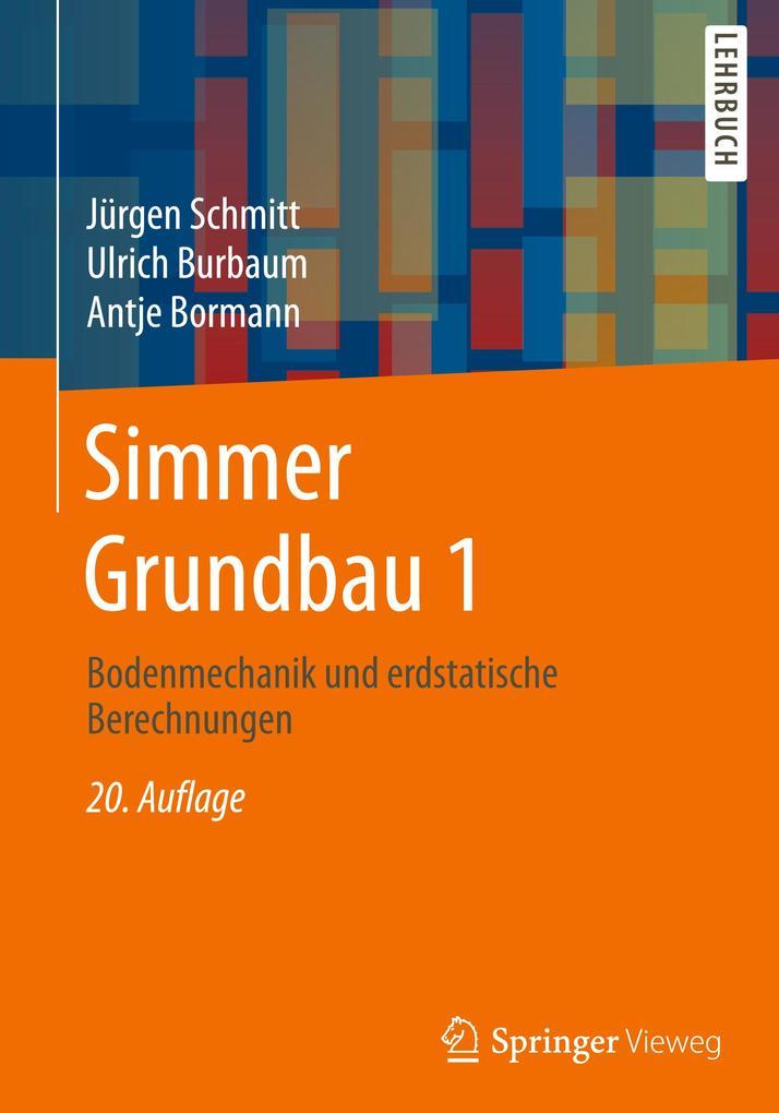 Simmer Grundbau 1 als Buch