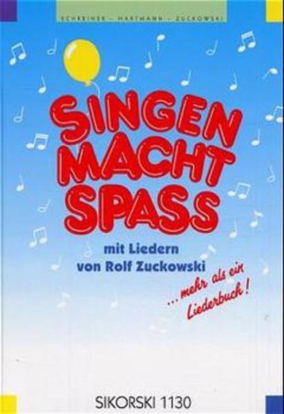 Singen macht Spaß als Buch (gebunden)