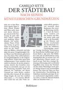 Der Städtebau nach seinen künstlerischen Grundsätzen