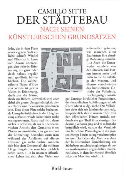 Der Städtebau nach seinen künstlerischen Grundsätzen als Buch