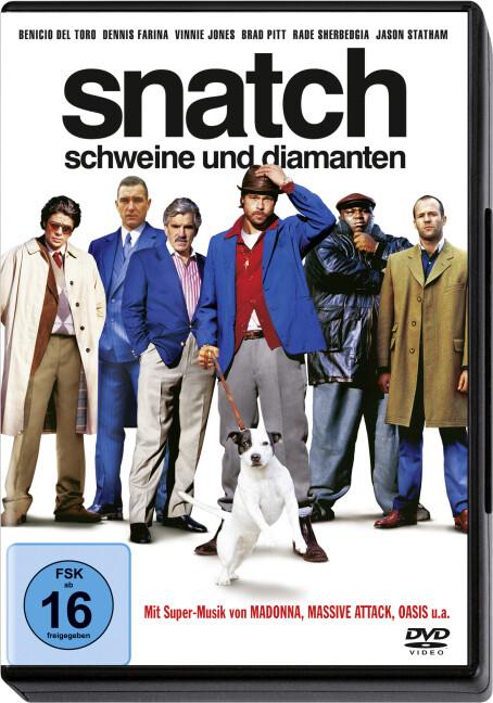 Snatch - Schweine und Diamanten als DVD