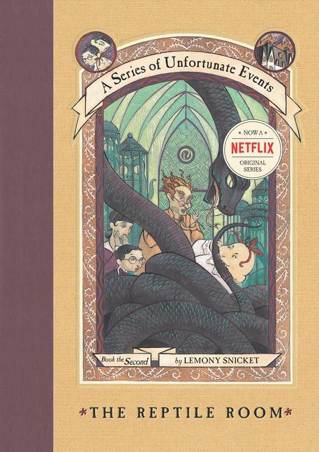 A Series of Unfortunate Events #2: The Reptile Room als Buch (gebunden)