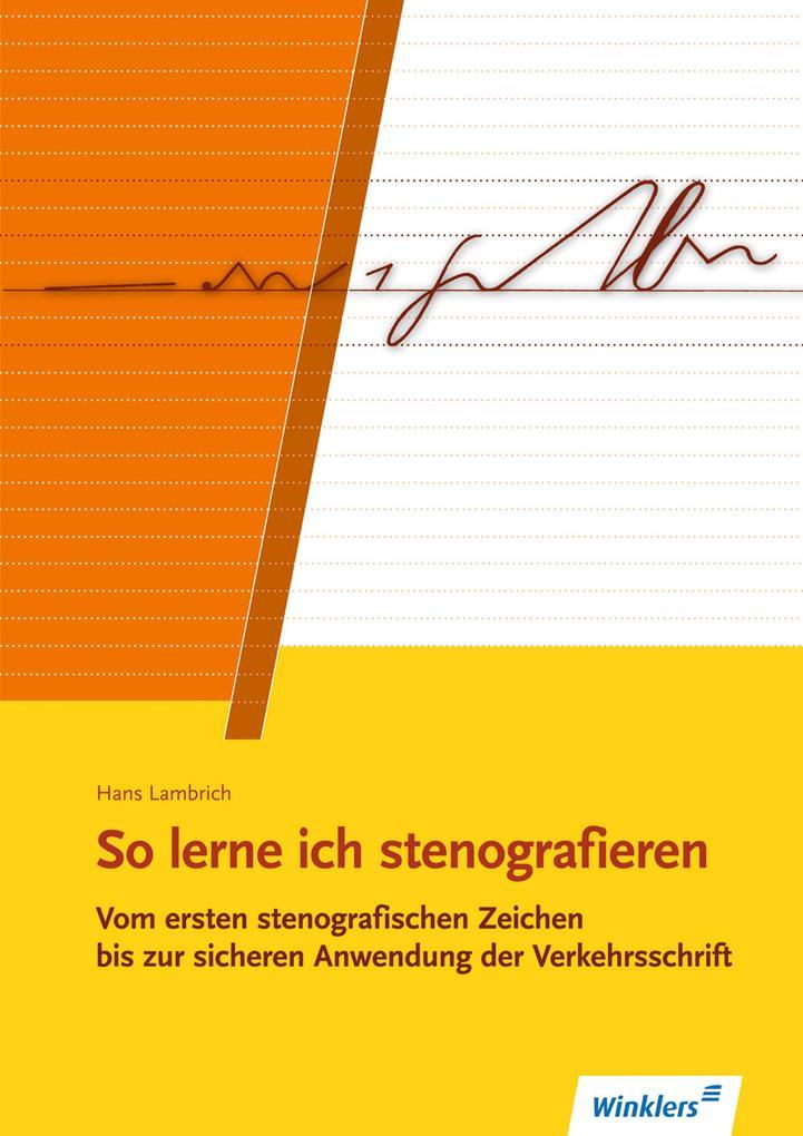 So lerne ich stenografieren als Buch