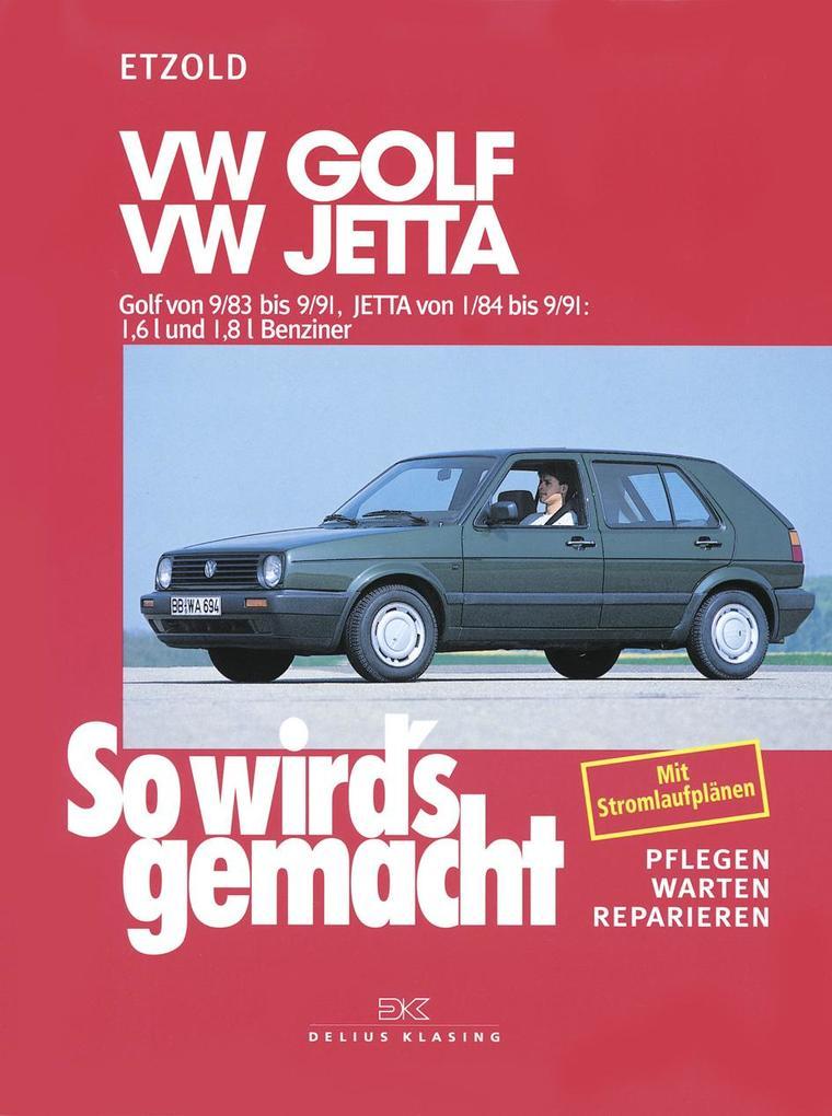 So wird's gemacht. VW Golf / Jetta als Buch