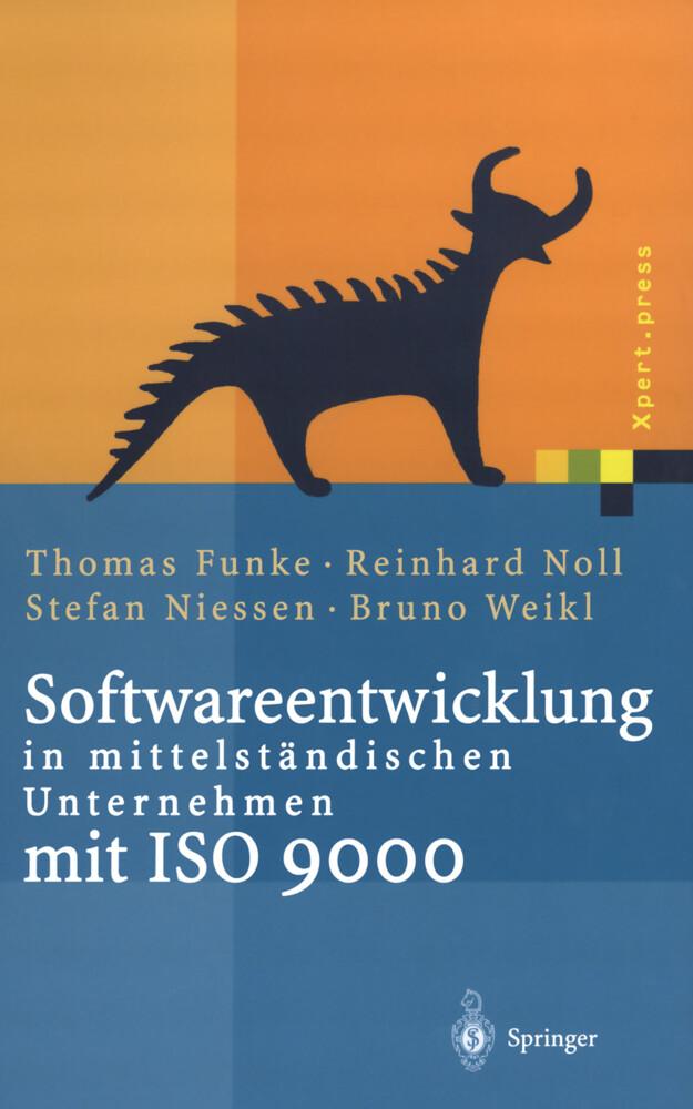 Softwareentwicklung in mittelständischen Unternehmen mit ISO 9000 als Buch