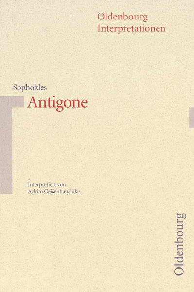 Antigone. Interpretationen als Taschenbuch
