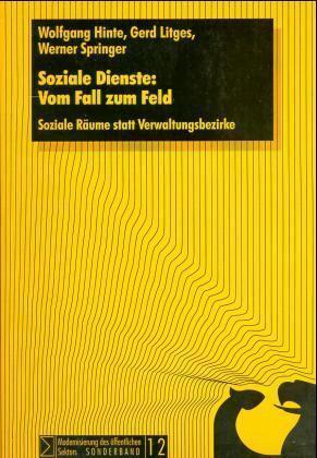 Soziale Dienste: Vom Fall zum Feld. Sonderband 12 als Buch
