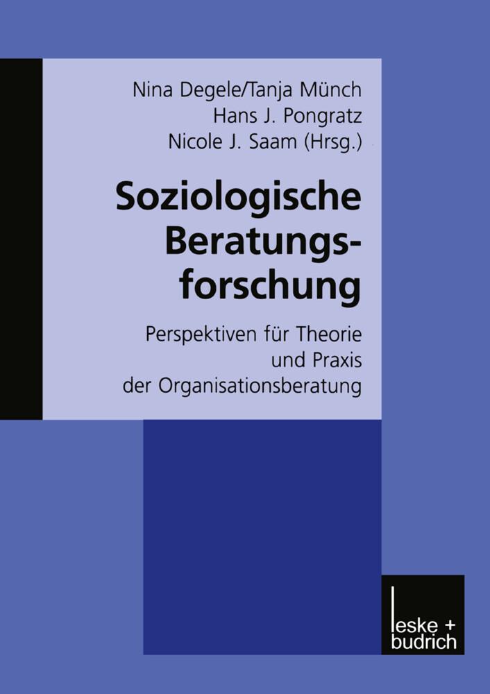 Soziologische Beratungsforschung als Buch