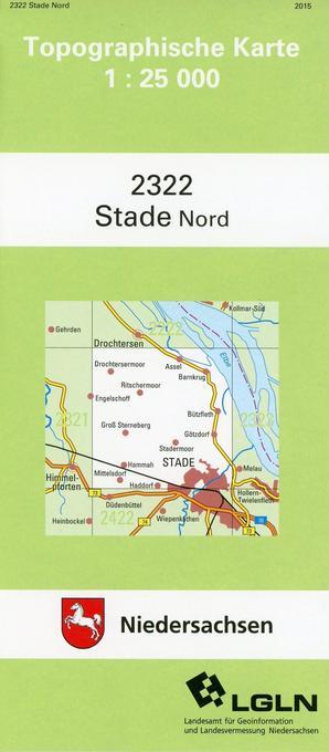 Stade Nord 1 : 25 000. (TK 2322/N) als Buch