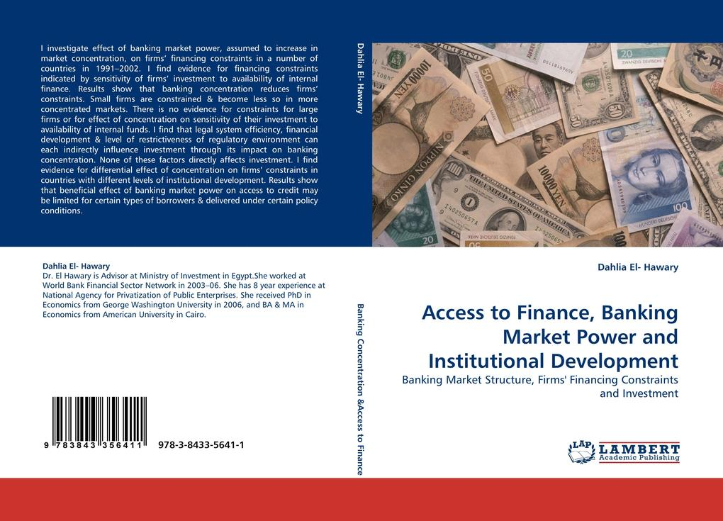Access to Finance, Banking Market Power and Ins...