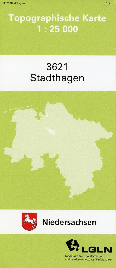 Stadthagen 1 : 25 000 als Buch