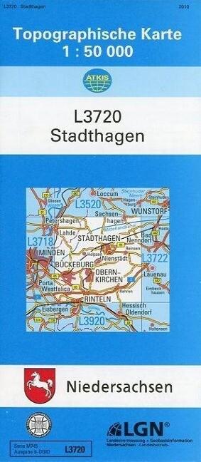 Stadthagen 1 : 50 000 als Buch