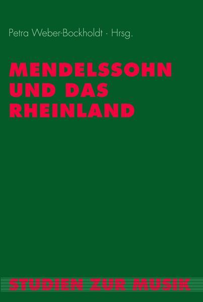 Mendelssohn und das Rheinland als Buch von