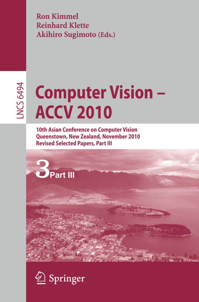 Computer Vision - ACCV 2010 als Buch von
