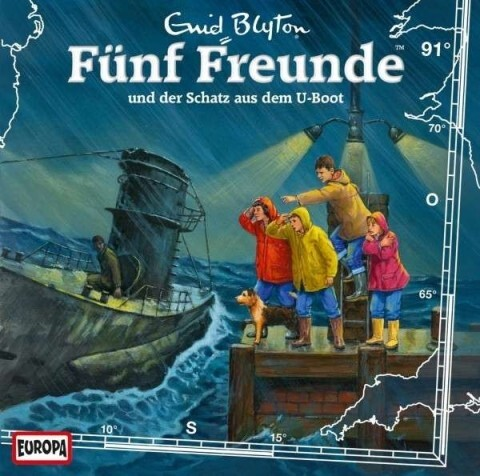 Fünf Freunde 091 und der Schatz aus dem U-Boot ...
