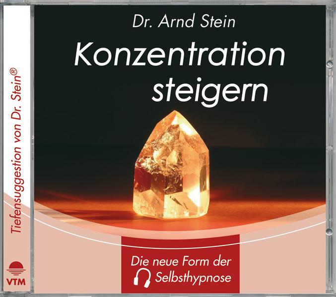 Konzentration steigern. Stereo-Tiefensuggestion. CD als Hörbuch