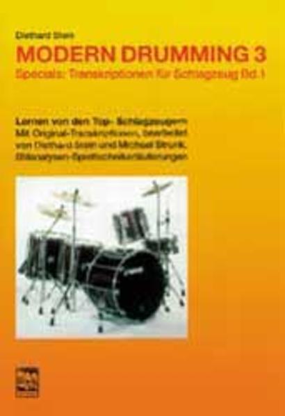 Modern Drumming III. Specials: Transkriptionen I als Buch