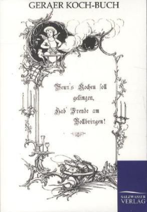 Geraer Koch-Buch als Buch von ohne Autor